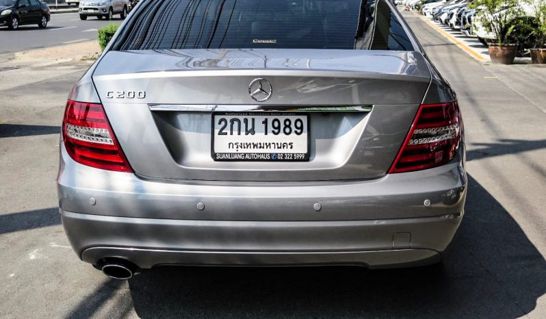 2012 Mercedes-Benz C200 1.8 W204 (ปี 08-14) Style Sedan AT full