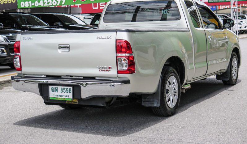 2013 TOYOTA HILUX VIGO, 2.7 CNG SMT CAB โฉม X-TRA CAB full